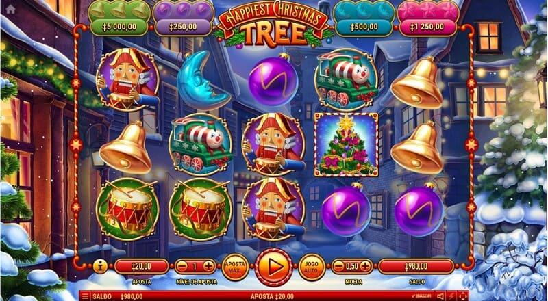ganador happiest christmas tree slots natalinos