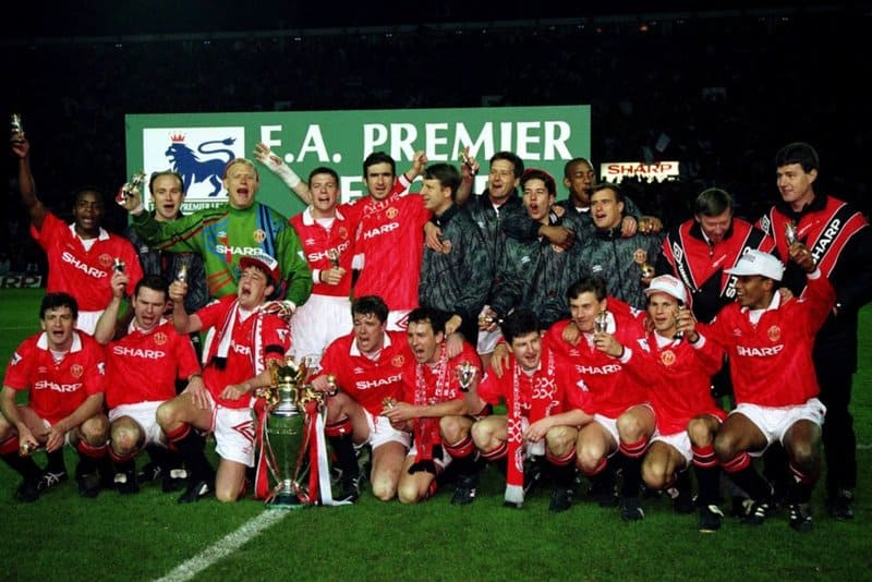 manchester united campeao 1992 93