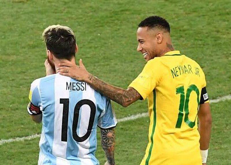 Argentina Brasil partido futbol