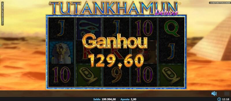 ganhar tutankhamon