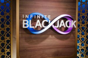 infinite blackjack ao vivo