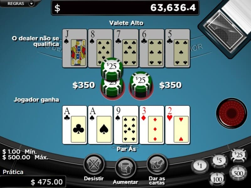 jogador ganha poker online