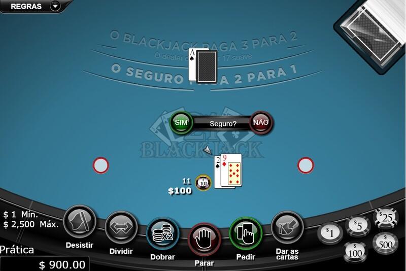 blackjack abandonar jogo