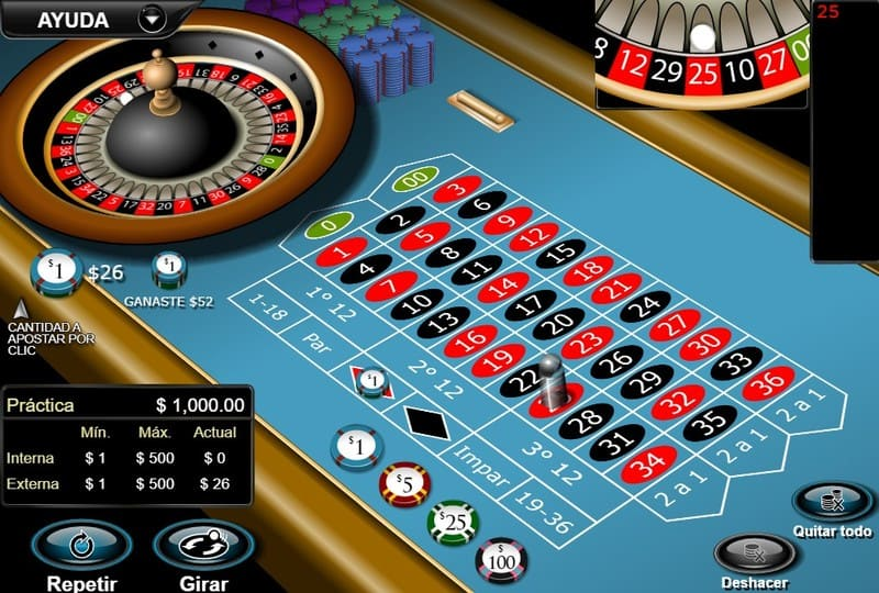 ganar classic american roulette 1
