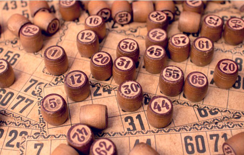 antiguo juego bingo