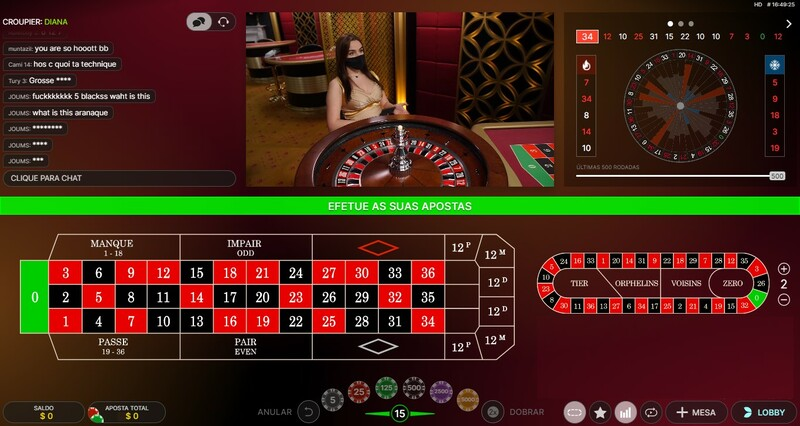 jogar french roulette gold