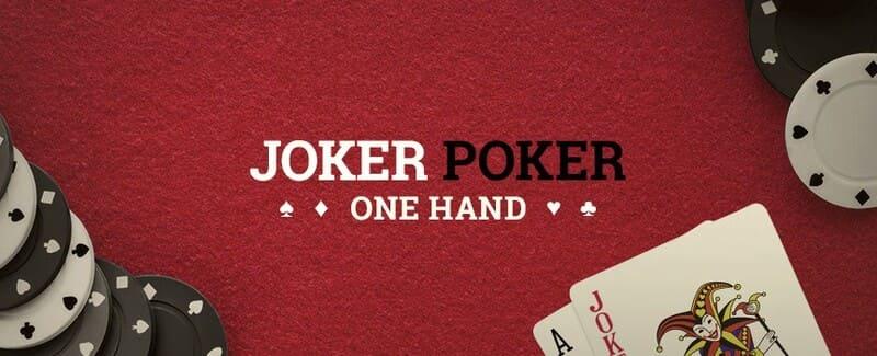 joker poker one hand