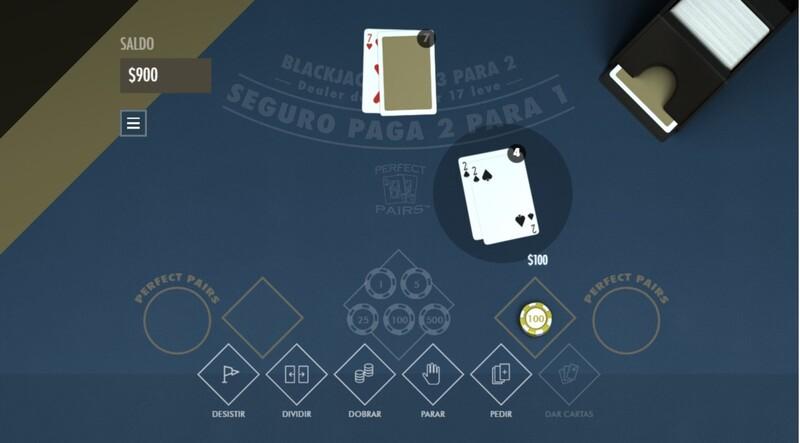 par perfeito blackjack perfect pairs