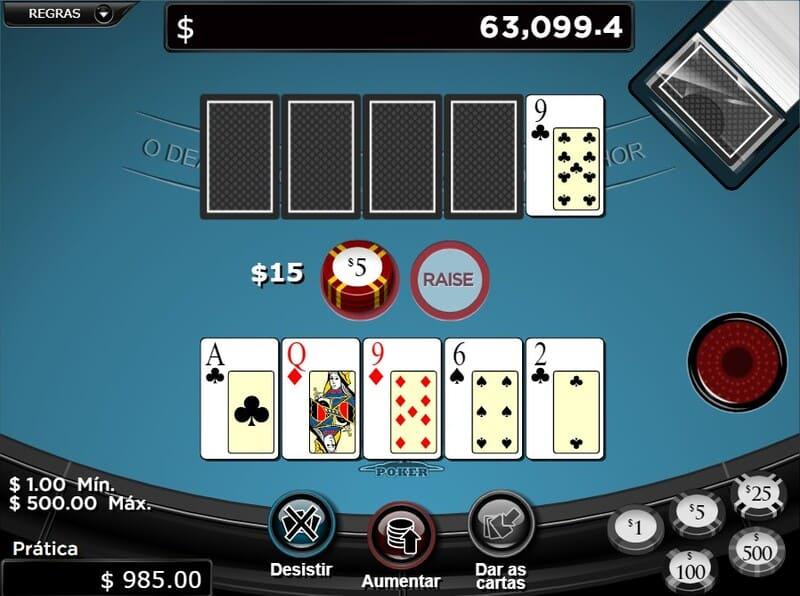 revisar mao poker