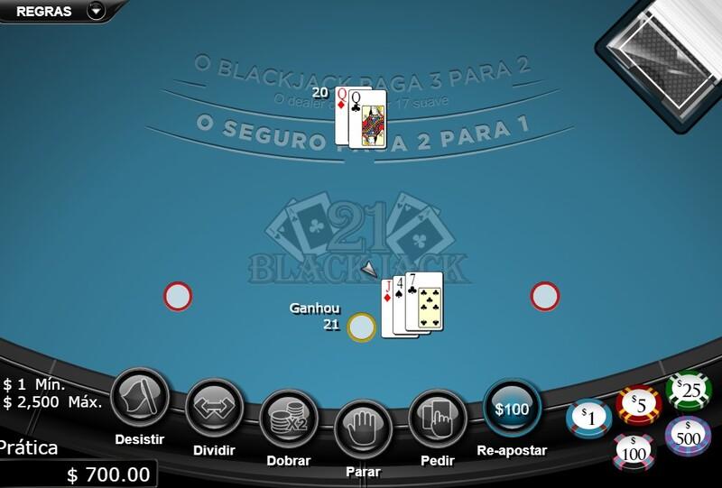 vinte e um classic blackjack 1