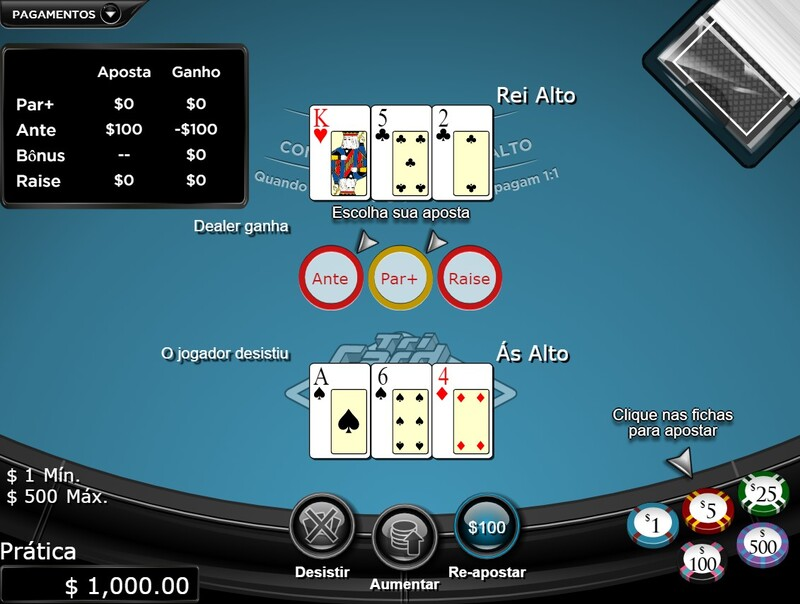 aposta poker online