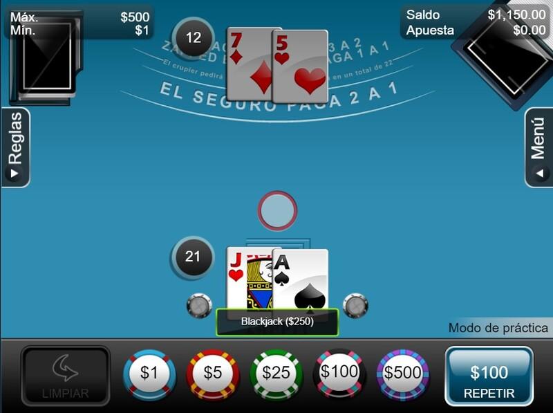 blackjack juegos mesa