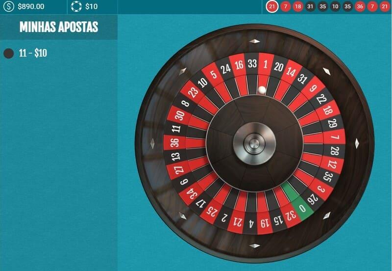 contagem rodadas 9 spins