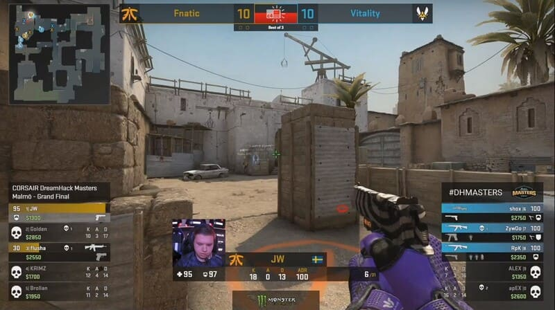 fnatic vitality dhmasters