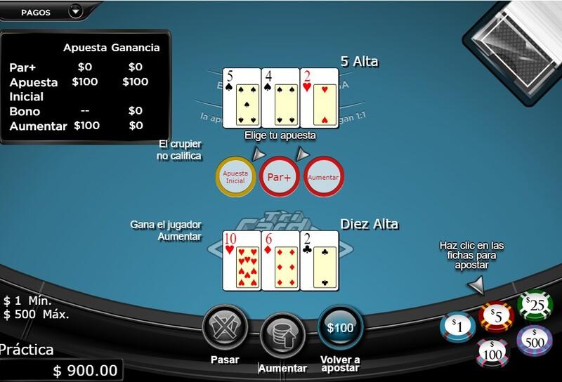poker juegos mesa