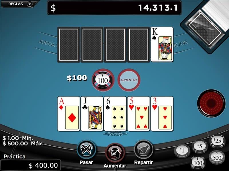 apostar poker