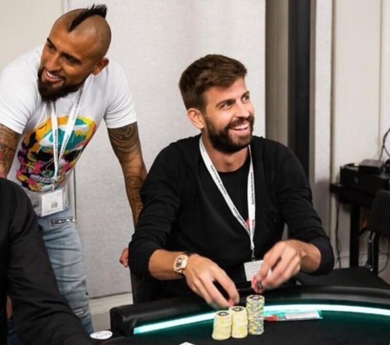 gerard pique poker