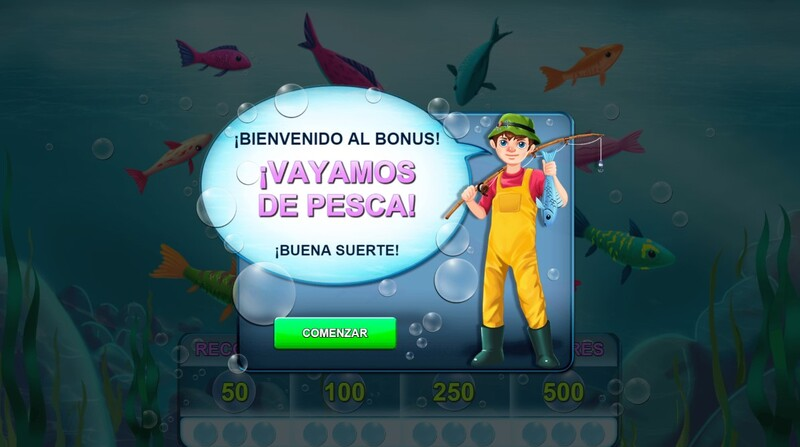 bonus pesca bingo