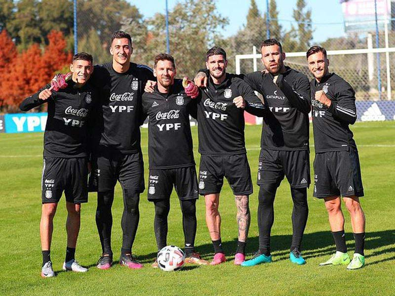 entrenamiento argentina
