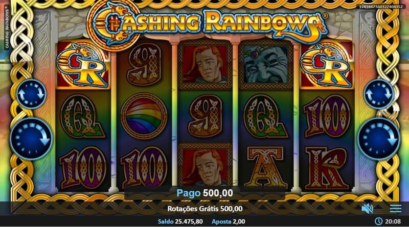 ganhar cashing rainbows