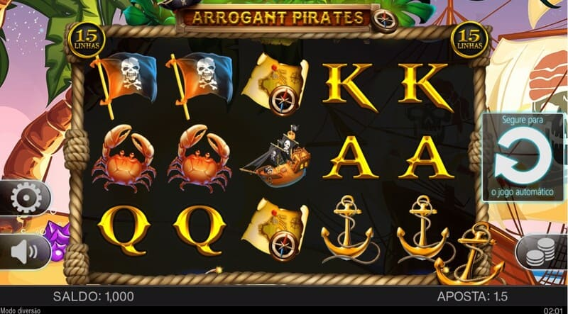 jogar arrogant pirates