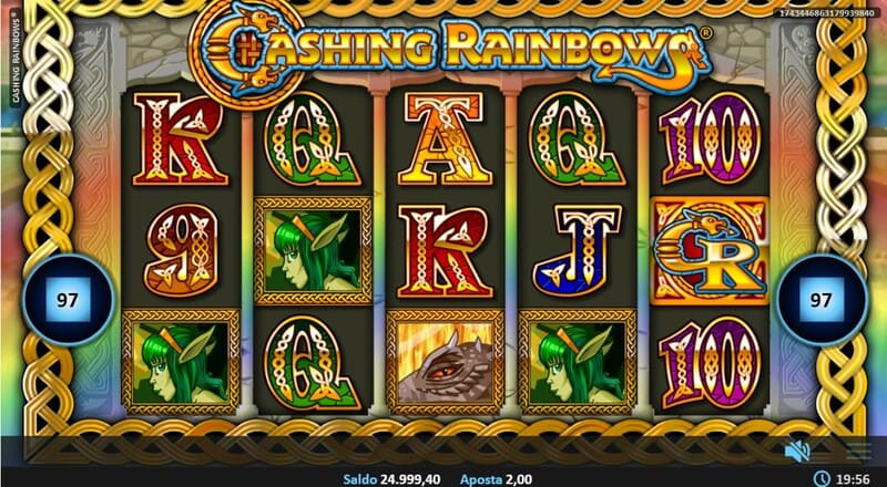 jogar cashing rainbows