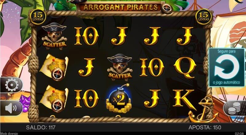 scatter arrogant pirates