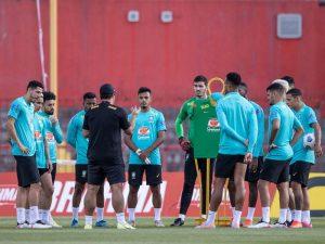 treinamento brasil