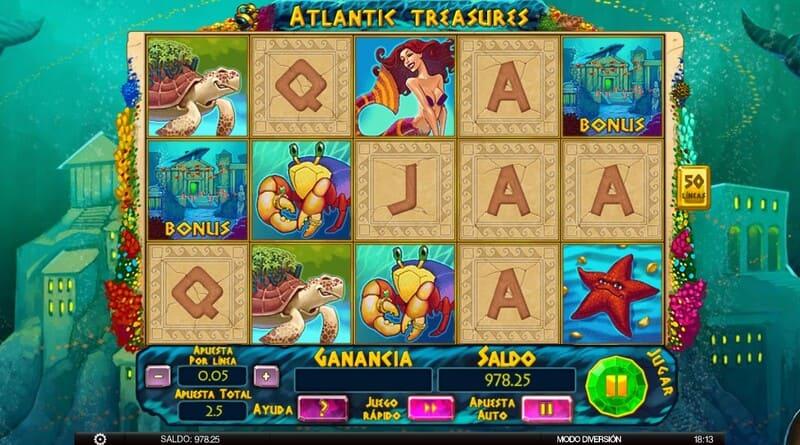bonus atlantic treasures