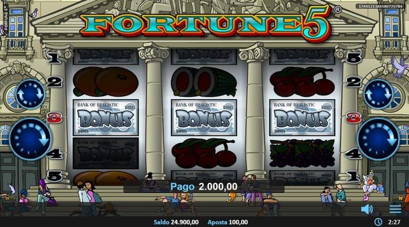 bonus fortune 5