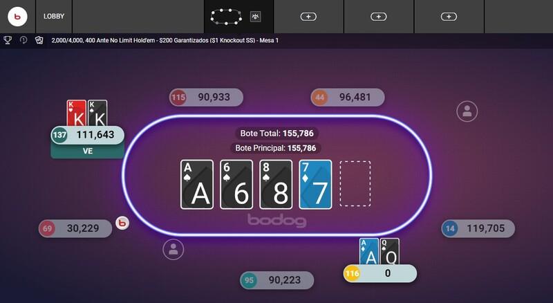 calcular poker online