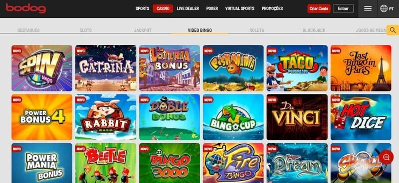 diversidade video bingo