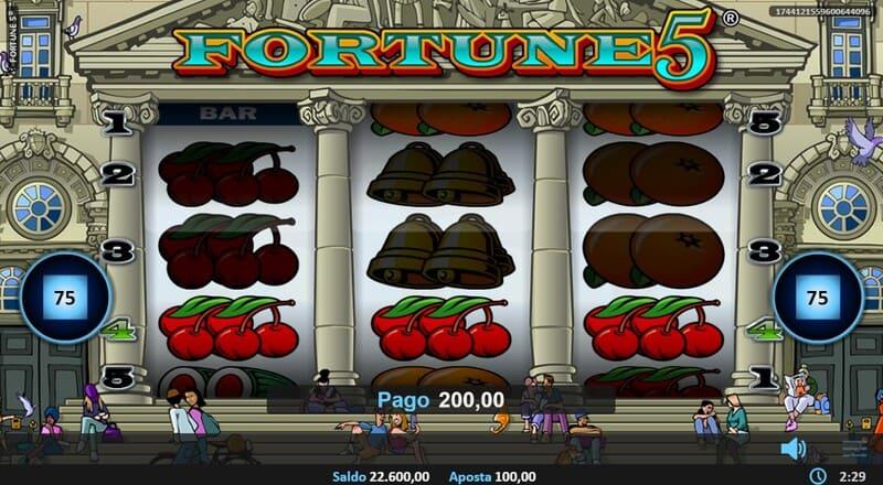 ganhar fortune 5