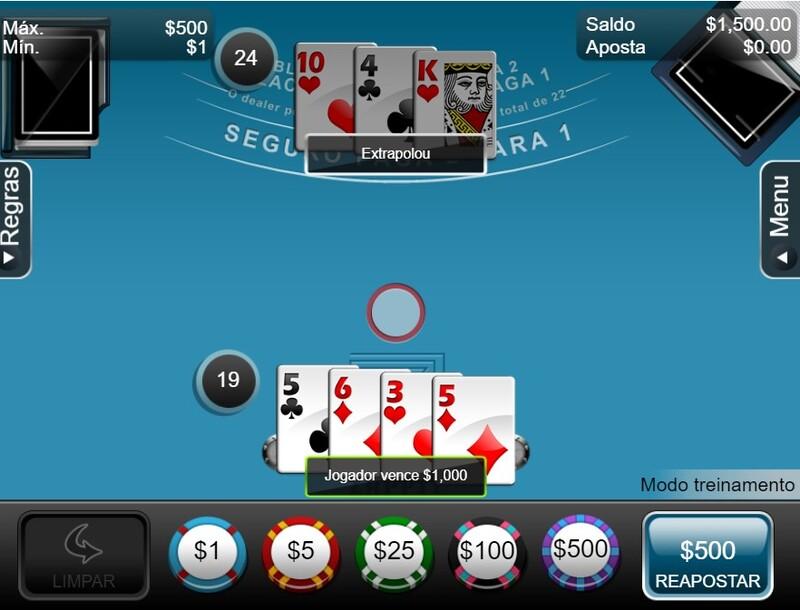 jogador casino
