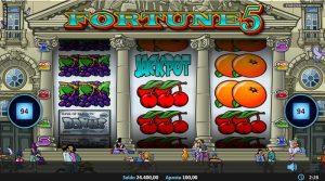 jogar fortune 5