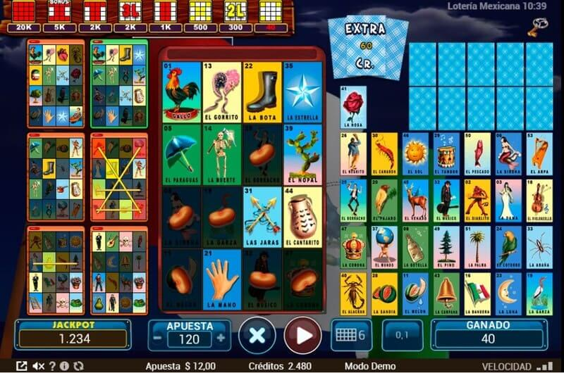 jugar loteria mexicana bonus