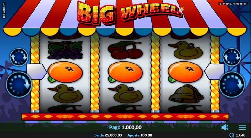pagamento big wheel