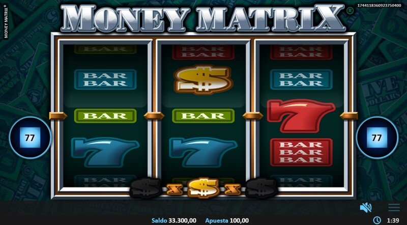 simbolos money matrix
