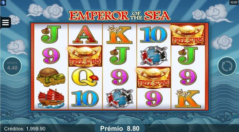 rodadas gratis emperor sea