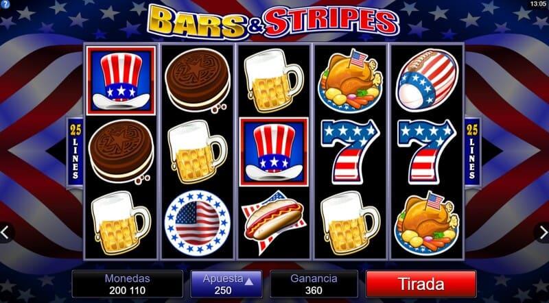 simbolo bars stripes