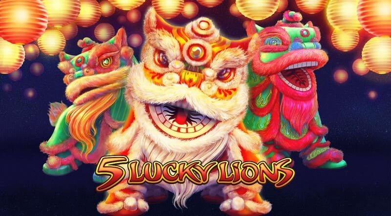 5 lucky lions jogo 1
