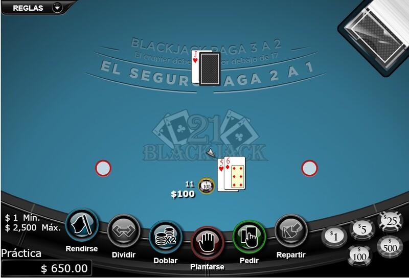 apostar blackjack