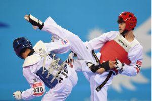 arte marcial taekwondo