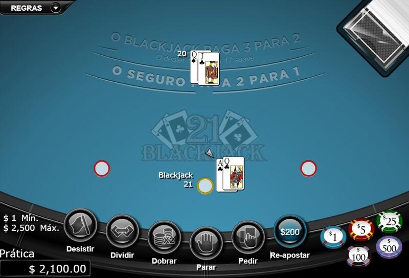 blackjack jogos cartas