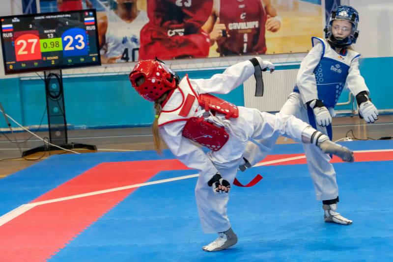 duracion combate taekwondo