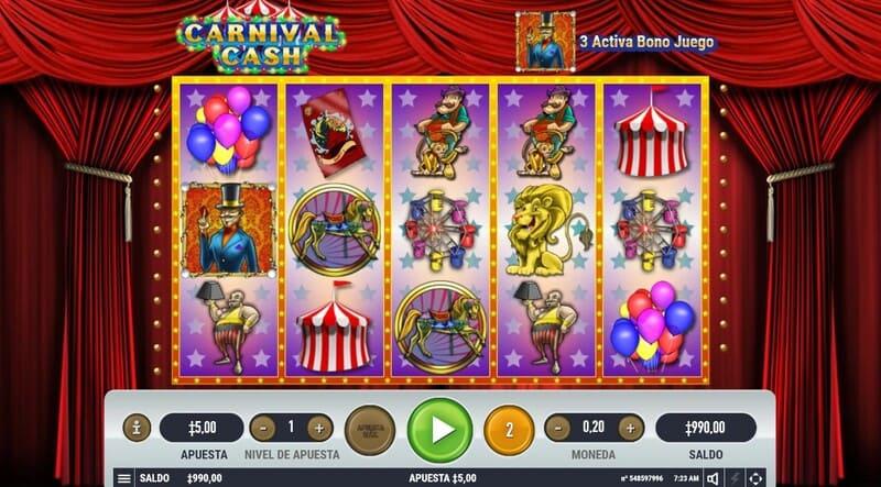 encanto slots circo