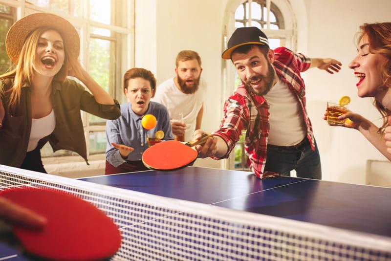 esporte popular tenis mesa