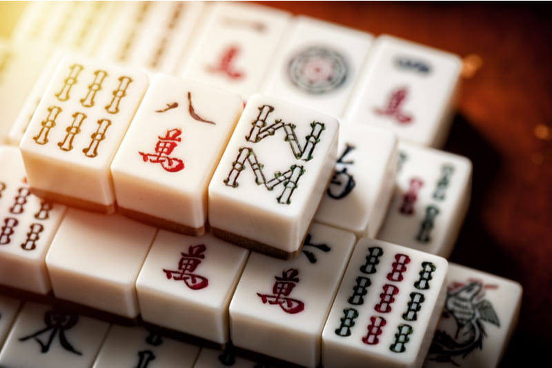 fichas mahjong