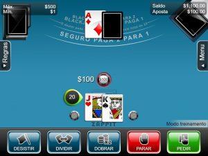 hard 20 blackjack