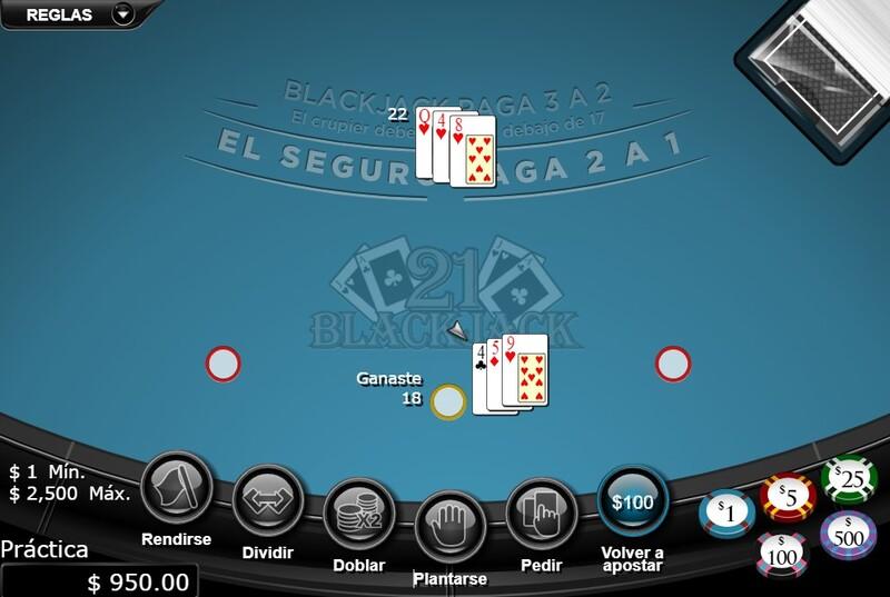 jugar online blackjack
